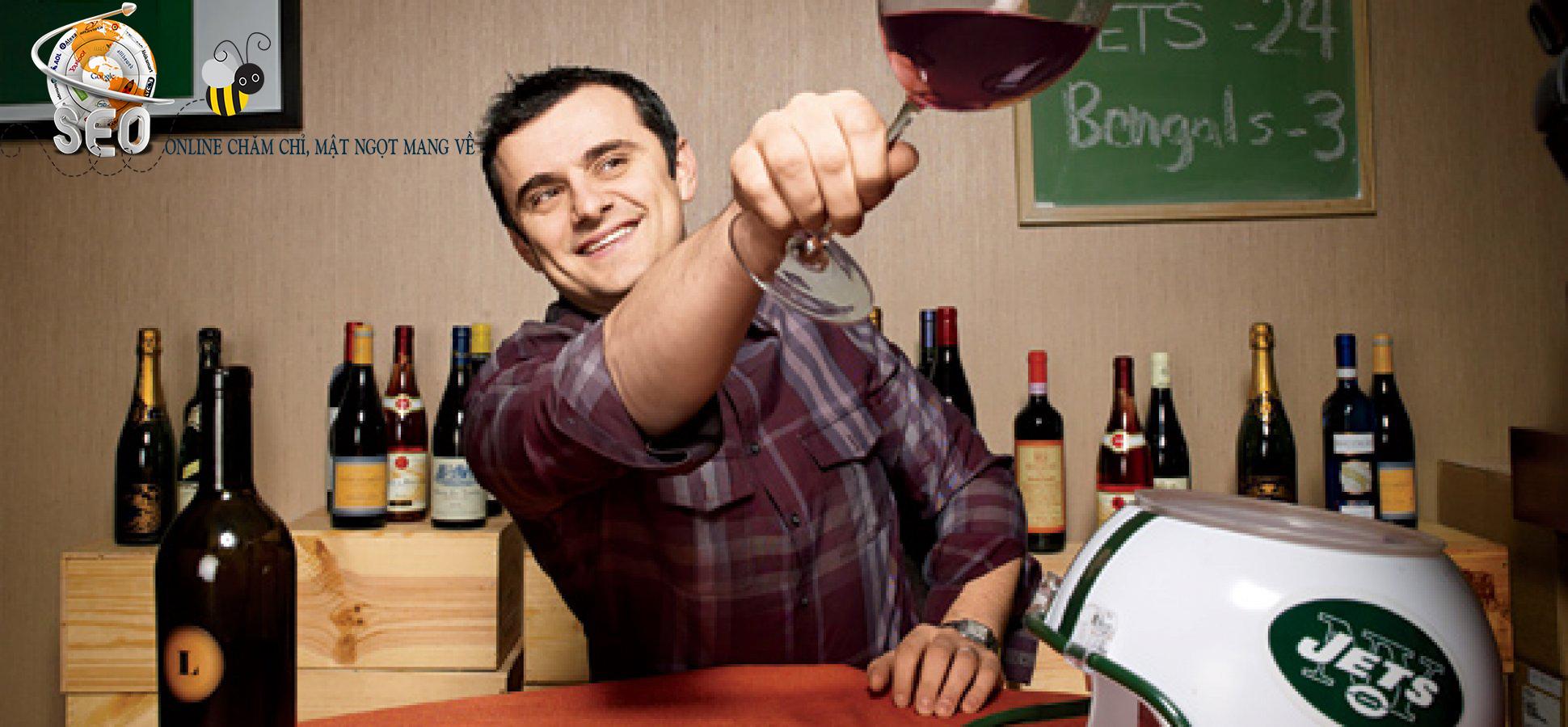 Gary Vaynerchuk - Chủ blog video Wine Library chuyên về rượu vang