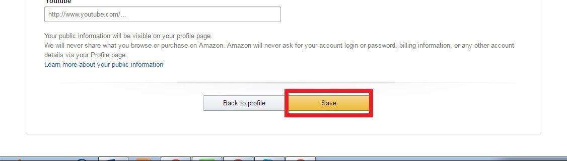 Đặt backlink tại Amazon