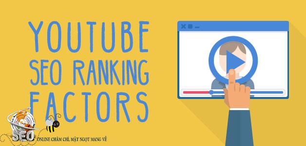 SEO Youtube - Các tiêu chí đánh giá xếp hạng video của Youtube