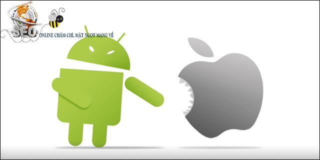 Dịch vụ viết ứng dụng Android, IOS uy tín, chuyên nghiệp hàng đầu