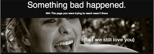 lannding page 404 giúp tối ưu trải nghiệm người dùng