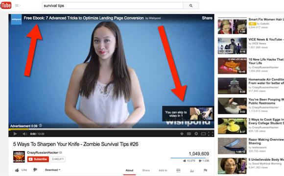 quảng cáo Youtube ads
