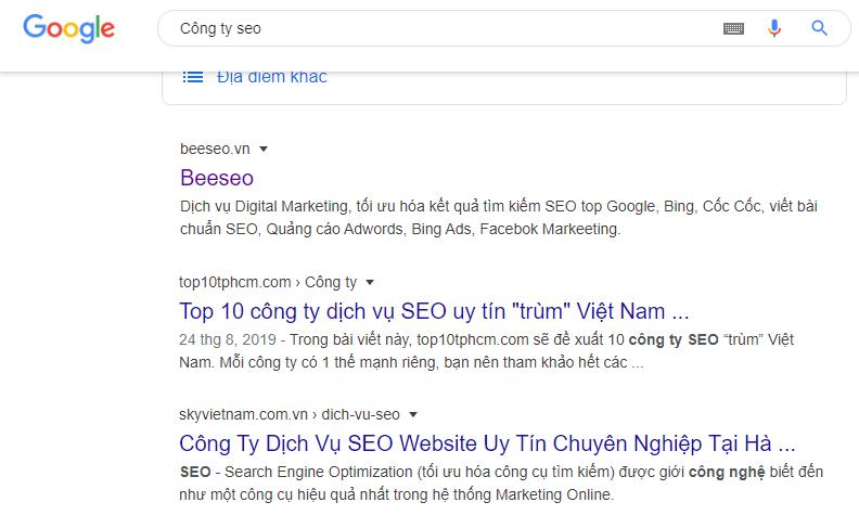 công ty beeseo